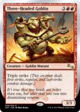 Three-Headed Goblin 【英語版】 [UST-赤R]《状態:NM》