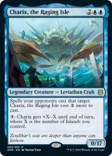 怒り狂う島嶼、キャリクス/Charix, the Raging Isle 【英語版】 [ZNR-青R]